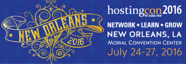 HostingCon Global 2016 | New Orleans, Louisiana | July 24th – 27th