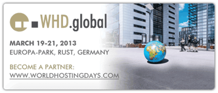 WHD.global | Europa-Park, Rust, Germany | March 19-21, 2013